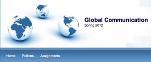 Global Communication website